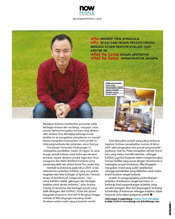 HD 33 Januari 2013 - Now People Andrew Tirta