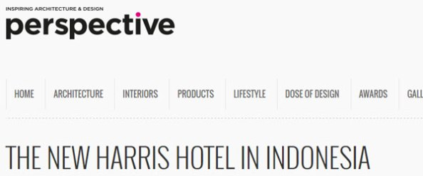 Harris Hotel in Perspective Global Magazine